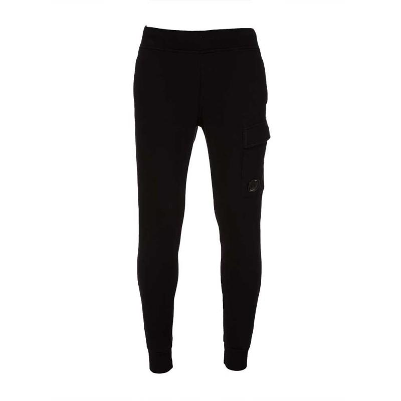 C.P Company Black Lens Sweatpants