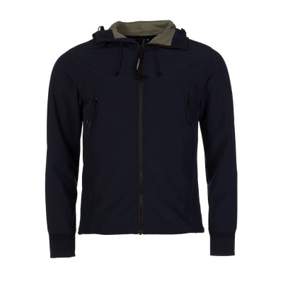 C.P. Company Navy Goggle Soft Shell Jacket