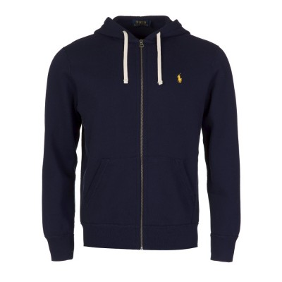 Polo Ralph Lauren Cruise Navy Zip Through Hoodie