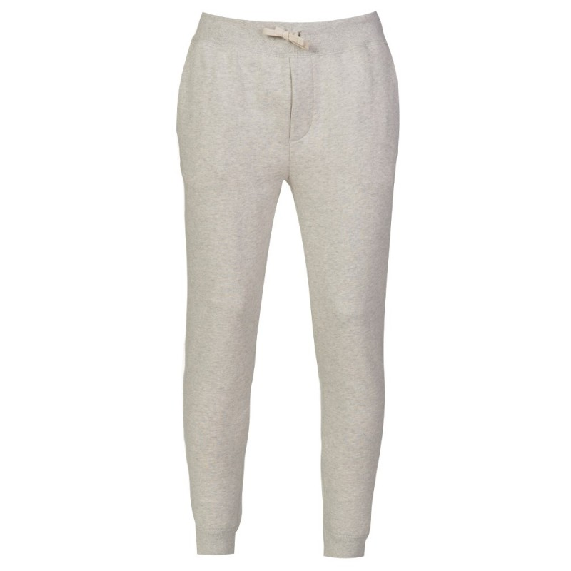 Polo Ralph Lauren Light Grey Marl Cuffed Sweatpants