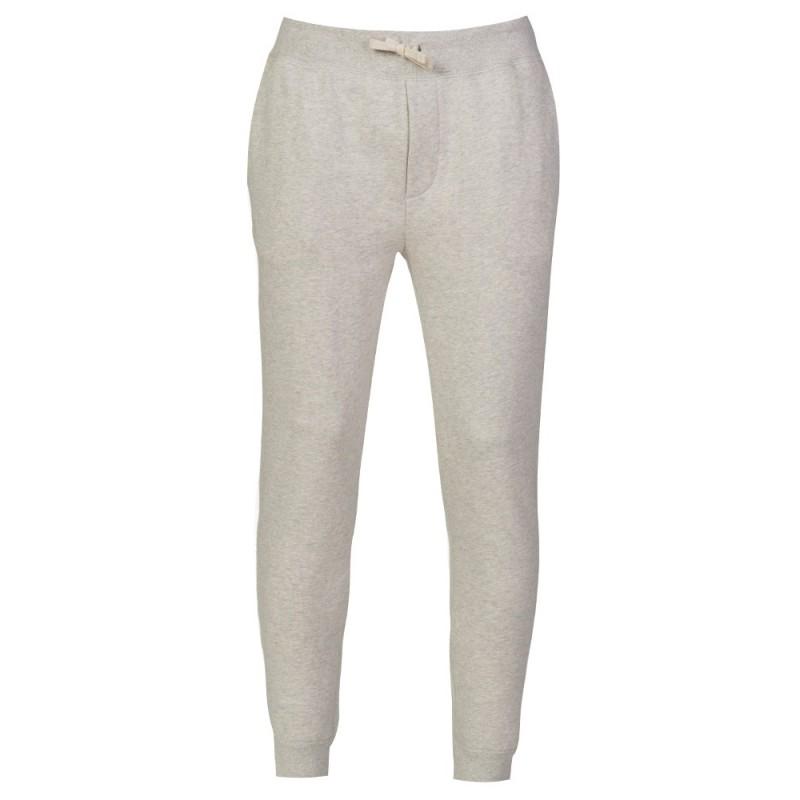 Polo Ralph Lauren Light Grey Marl Cuffed Sweatpants