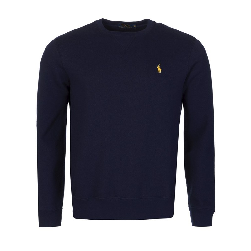Polo Ralph Lauren Navy Crew Neck Basic Sweatshirt