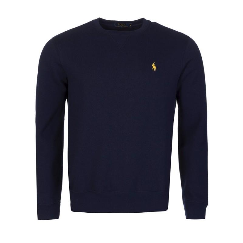 Polo Ralph Lauren Navy Crew Neck Basic Sweatshirt