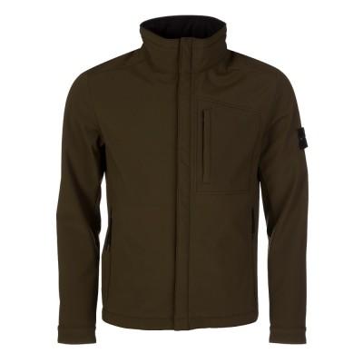 Stone Island Military Green Soft Shell Jacket
