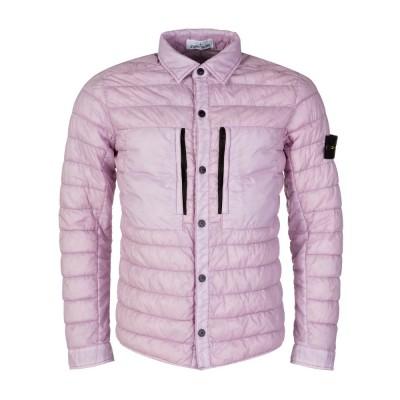 Stone Island Pink Puffer Jacket