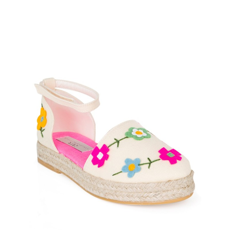 Stella McCartney Junior Cream Espadrilles