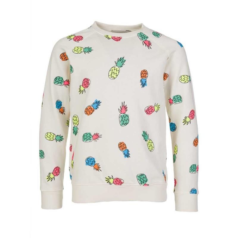 Stella McCartney Kids Cream Pineapple Sweatshirt