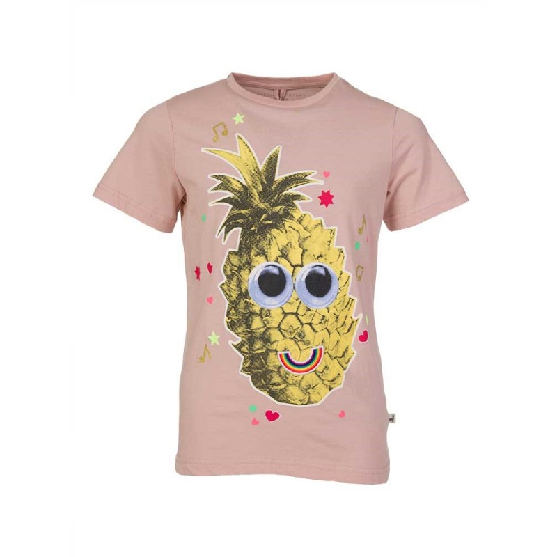 Stella McCartney Kids Pink Pineapple T-Shirt
