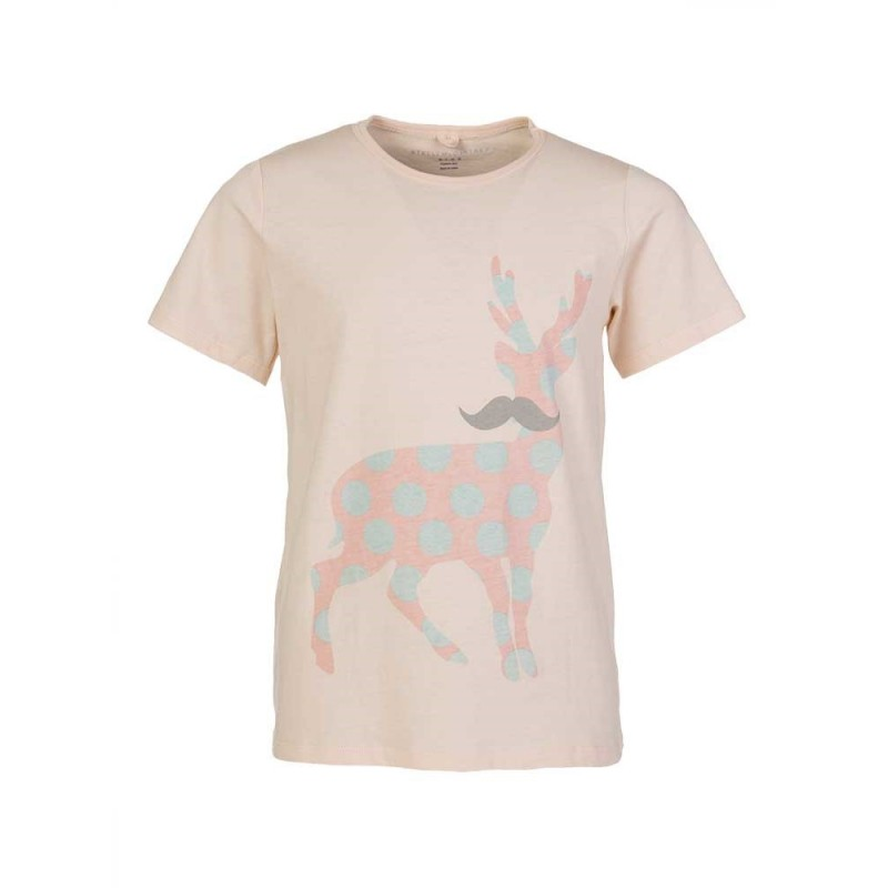 Stella McCartney Pink Deer T-Shirt