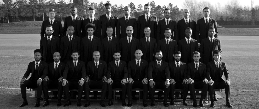 Manchester City Reveals New Official Club Suits by DSquared2
