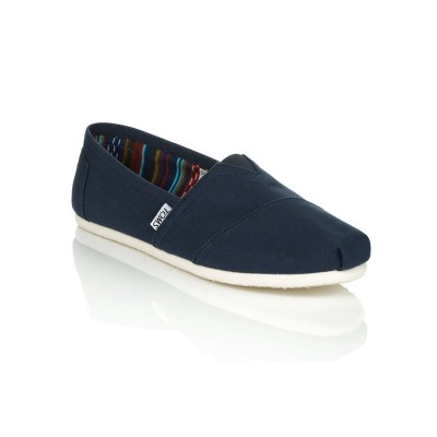 Toms Navy Classic Canvas Shoes