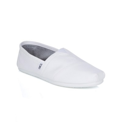 Toms Optic White Classic Canvas Shoes