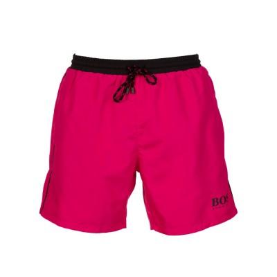 Boss by Hugo Boss Pink Starfish Swim Trunks