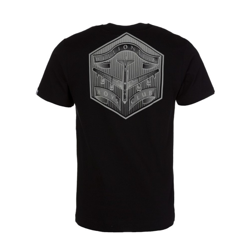Billionaire Boys Club Black B-52 Logo Print T-Shirt