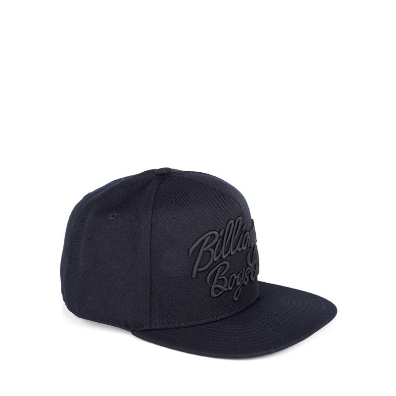 Billionaire Boys Club Black Script Logo Snapback