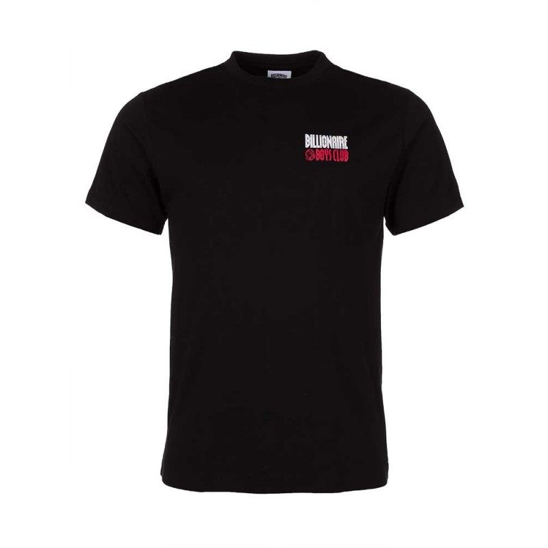 Billionaire Boys Club Black Straight Logo T-Shirt