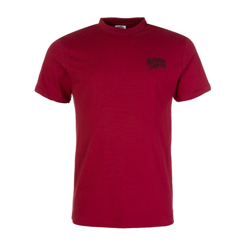 Billionaire Boys Club Burgundy Small Arch Logo T-Shirt