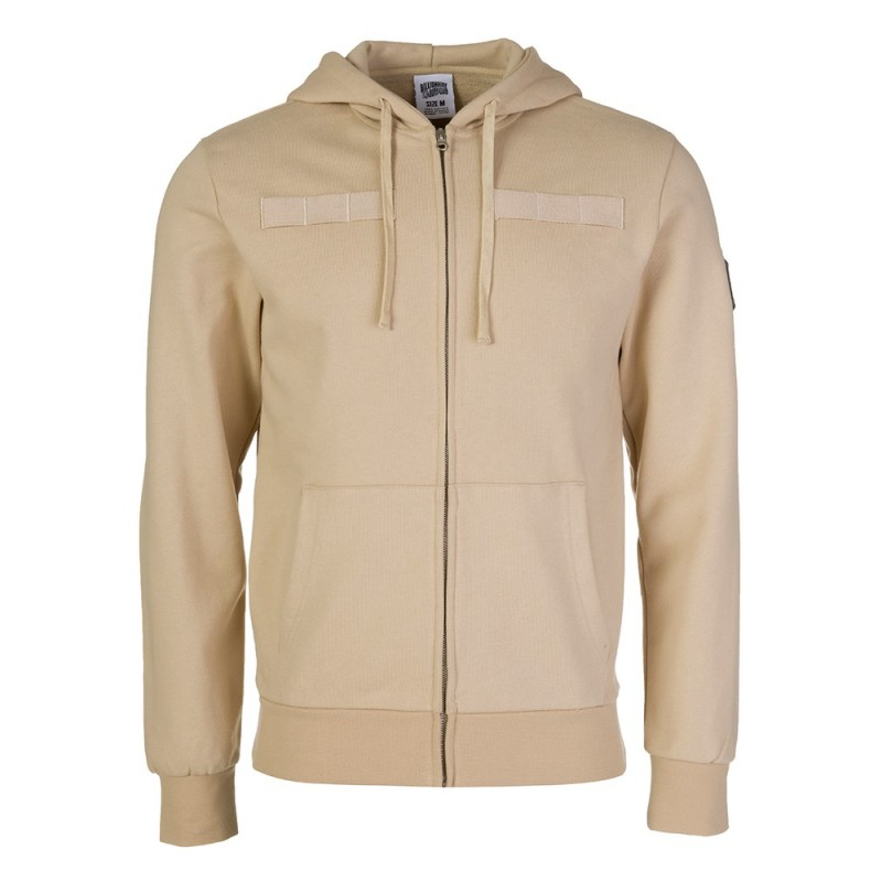 Billionaire Boys Club Tan Flight Patch Zip Hoodie
