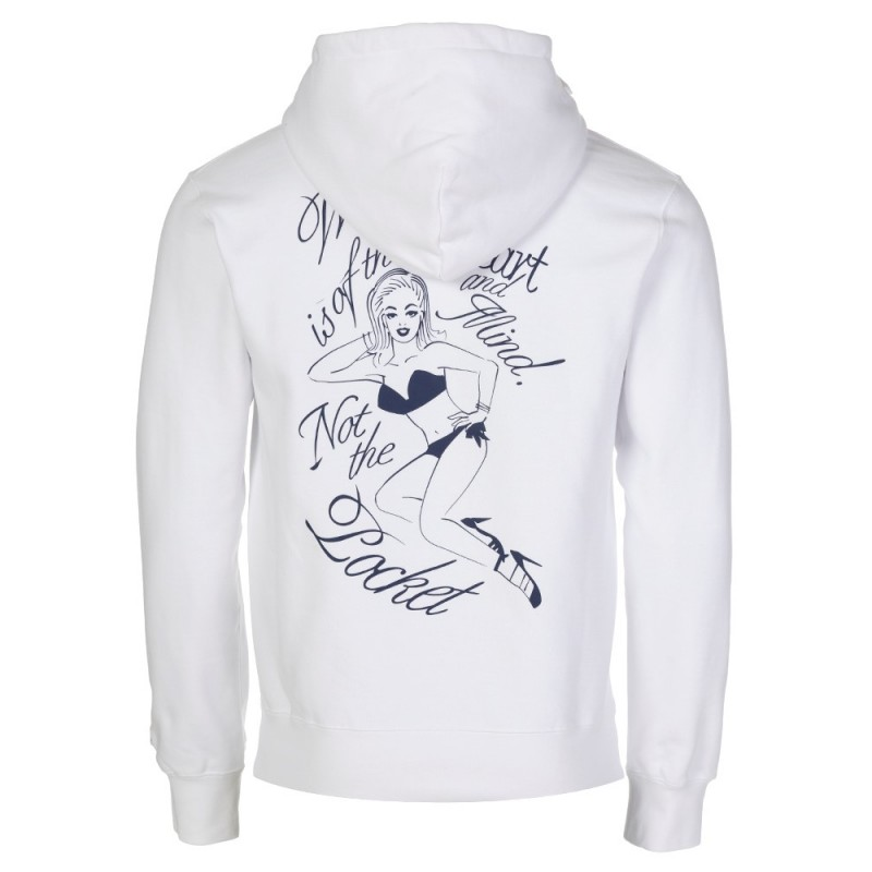 Billionaire Boys Club White Art Pop Hoodie