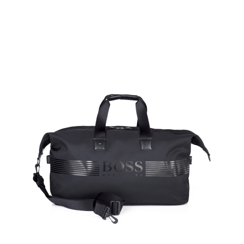 Boss by Hugo Boss Black Pixel Holdall Bag