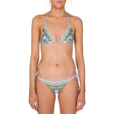 Camilla Blue My Marjorelle Reversible Tassel Bikini