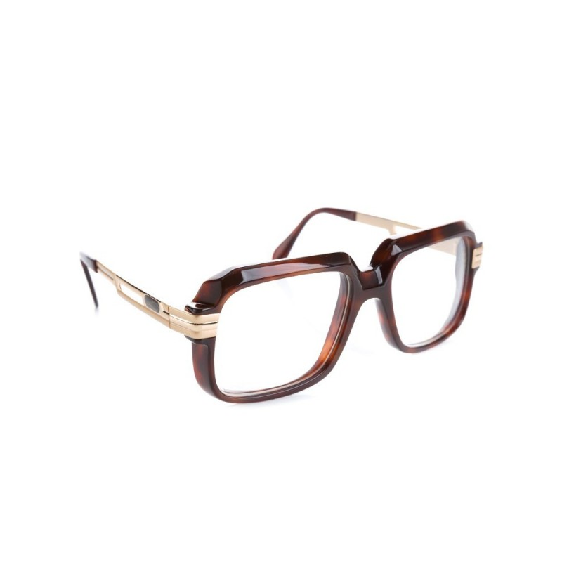 Cazal Brown Clear Lens Glasses