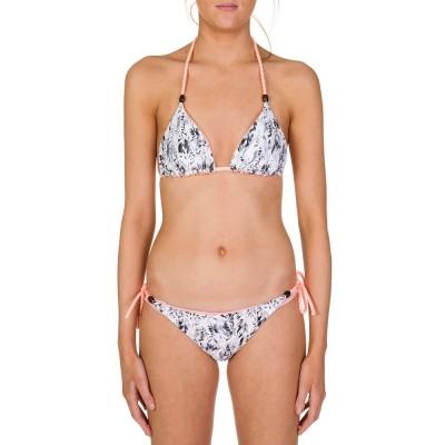 Heidi Klein Pink Reversible Mozambique Bikini