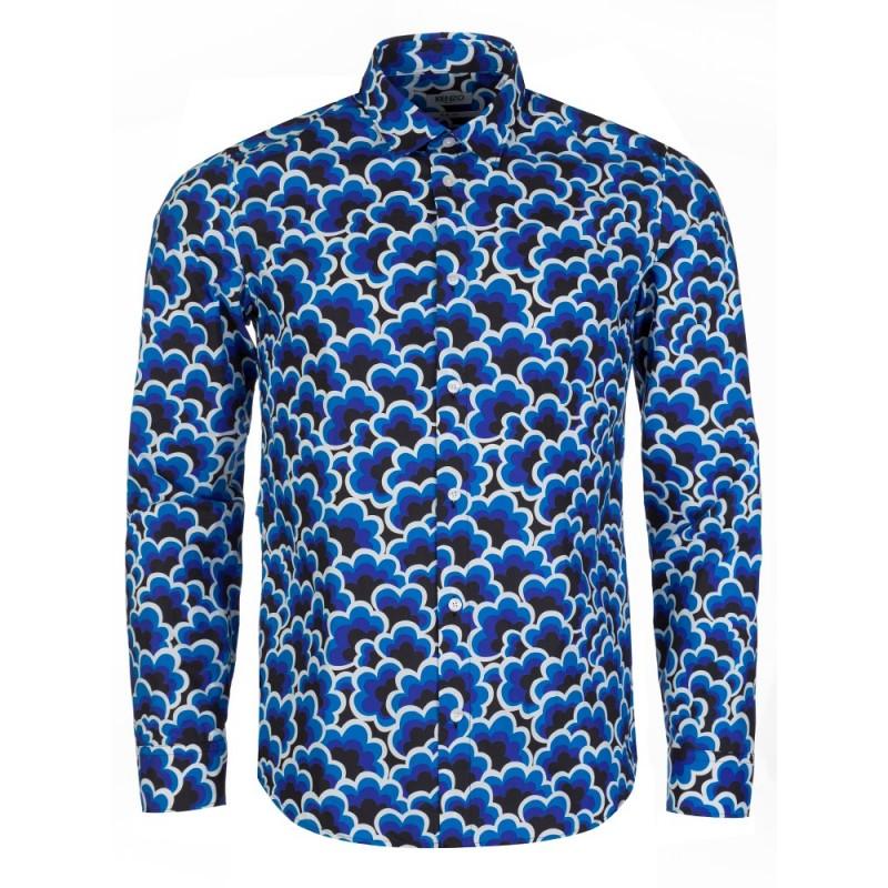 Kenzo Blue Popcorn Shirt
