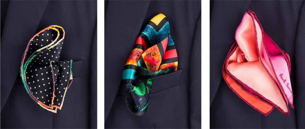 Staff Pick: Paul Smith Pocket Squares