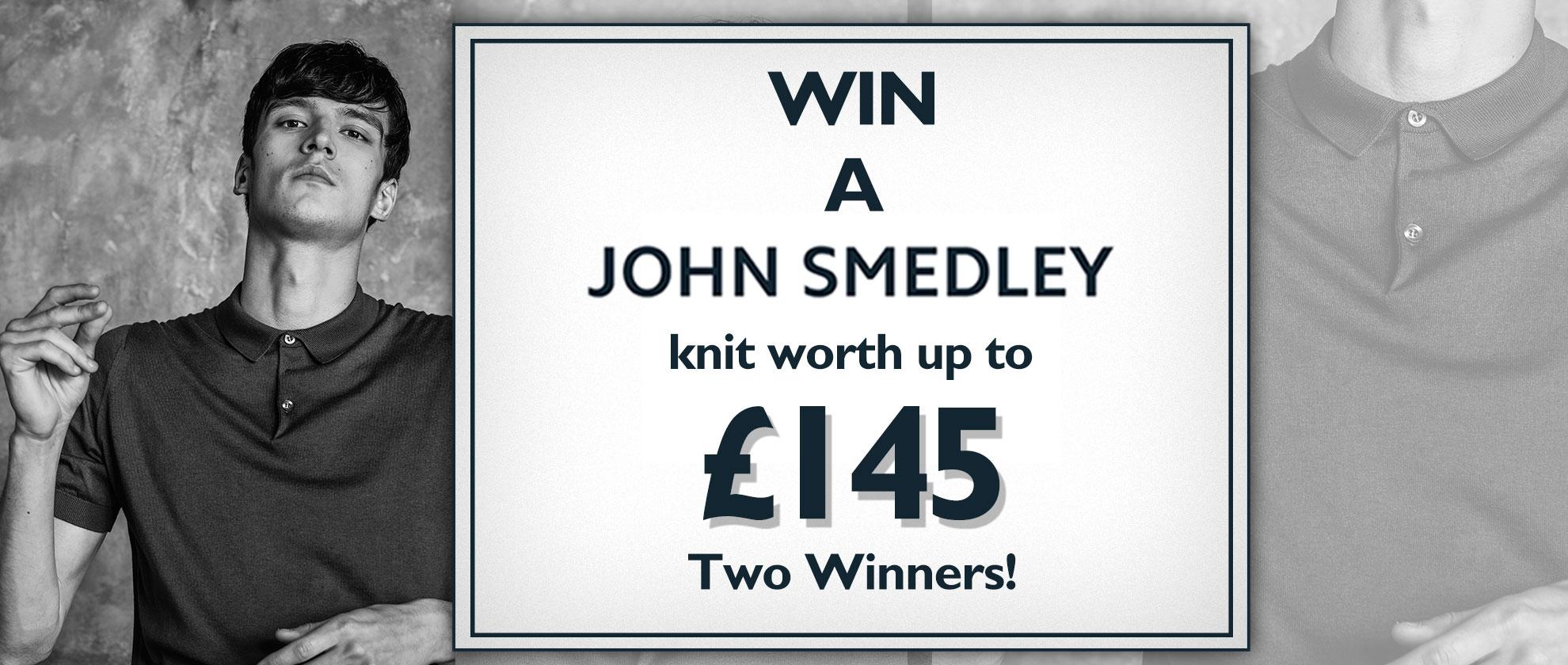 Win a John Smedley Knit Worth £145!