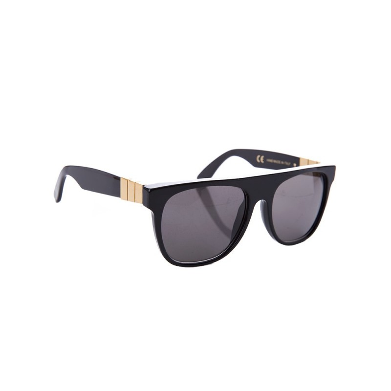 Super by RetroSuperFuture Black Gianni Sunglasses