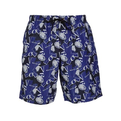 Versace Collection Blue Medusa Swim Shorts