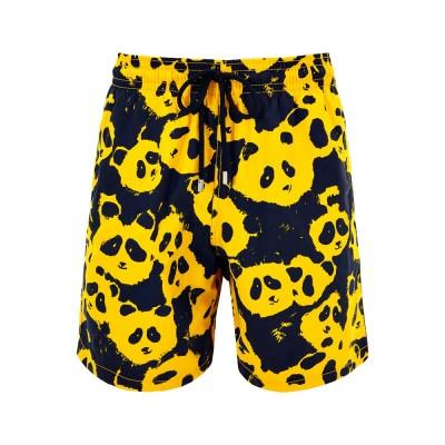 Vilebrequin Yellow Panda Swim Shorts