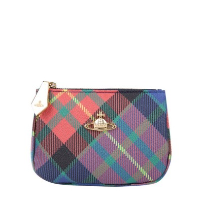 Vivienne Westwood Red Tartan Derby Purse