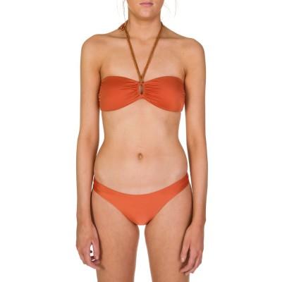 VIX Paula Hermanny Copper Bandeau Bikini