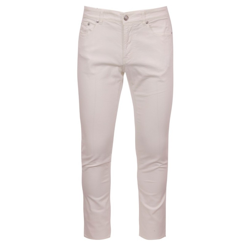 Versus Versace White Slim Fit Jeans