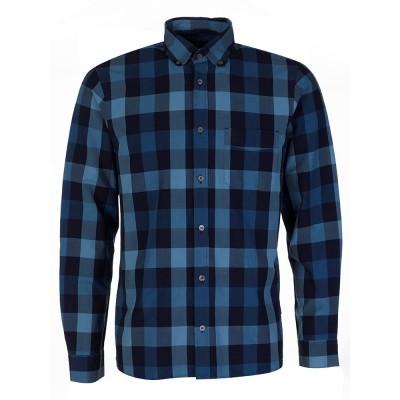 Aquascutum Indigo Check Luxe Shirt