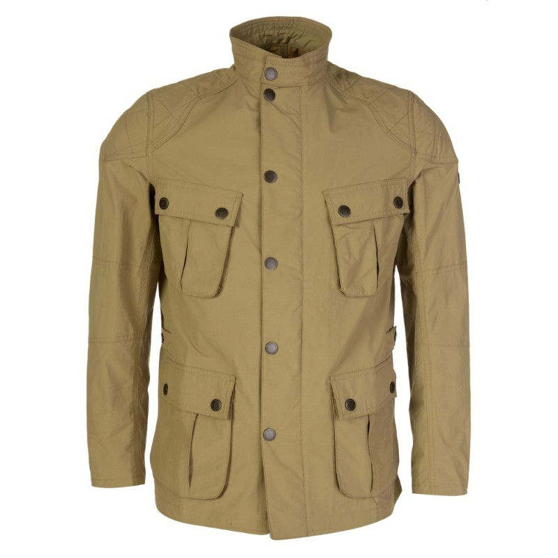 Barbour International Beige Guard Jacket