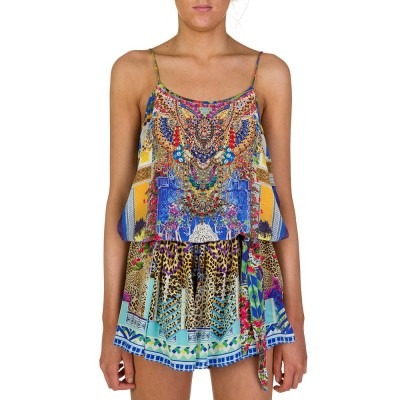 Camilla Blue Bohemian Bounty Playsuit