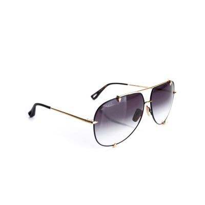 Dita Black and Gold Talon Sunglasses