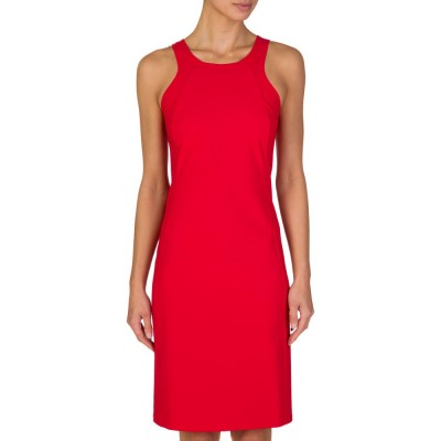 Patrizia Pepe Red Sheath Dress