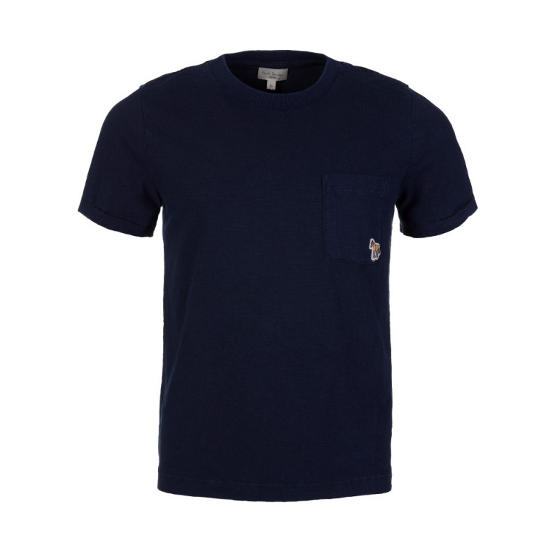 Paul Smith Junior Navy Pocket T-Shirt