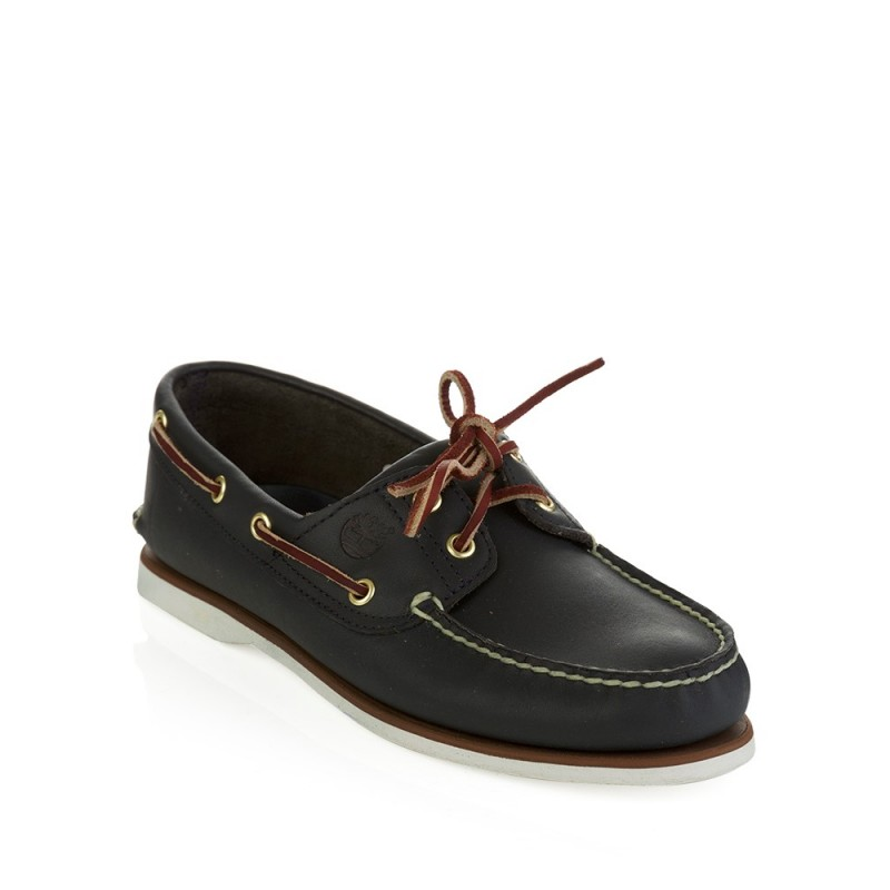 Timberland Navy Classic Boat Shoes