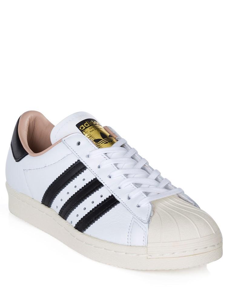 Adidas White Superstar 80s Trainer