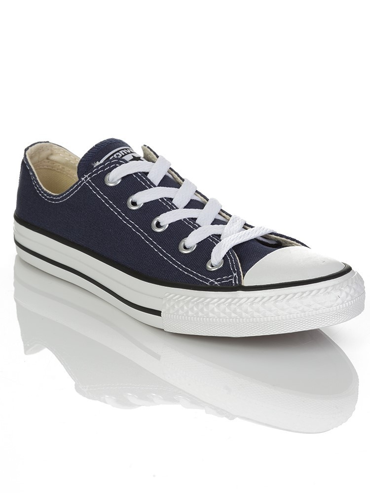 Junior Converse Navy Chuck Taylor Low Ox Trainer