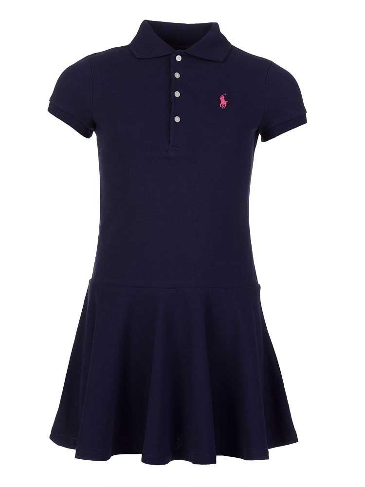 Polo Ralph Lauren Junior Navy Polo Dress