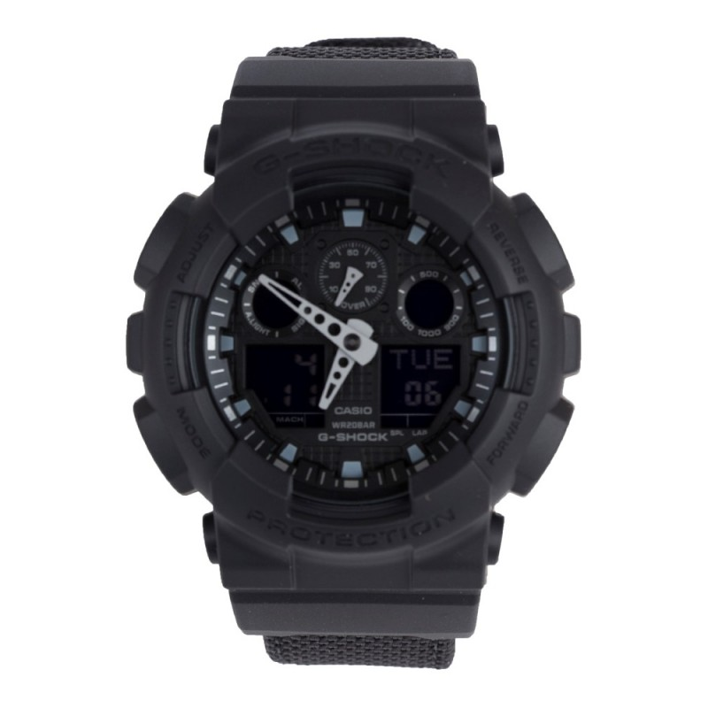 G-Shock Black Analogue Blackout Watch