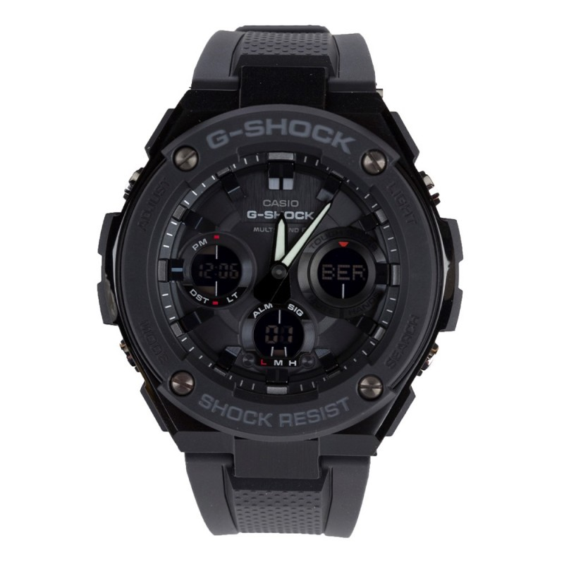 G-Shock Black Analogue Steel Watch
