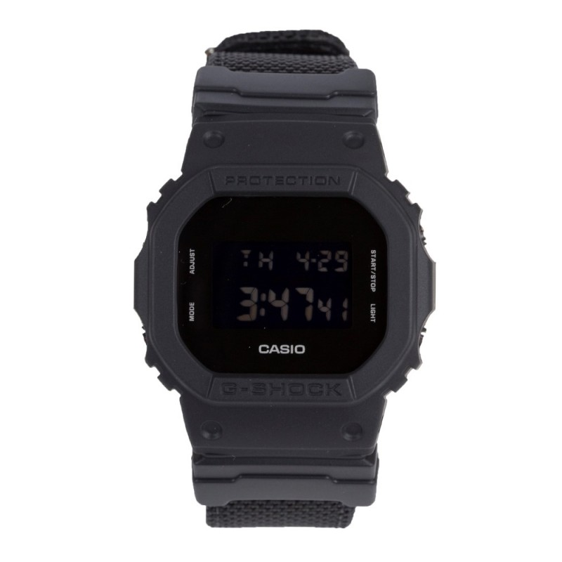 G-Shock Black Small Digital Blackout Watch
