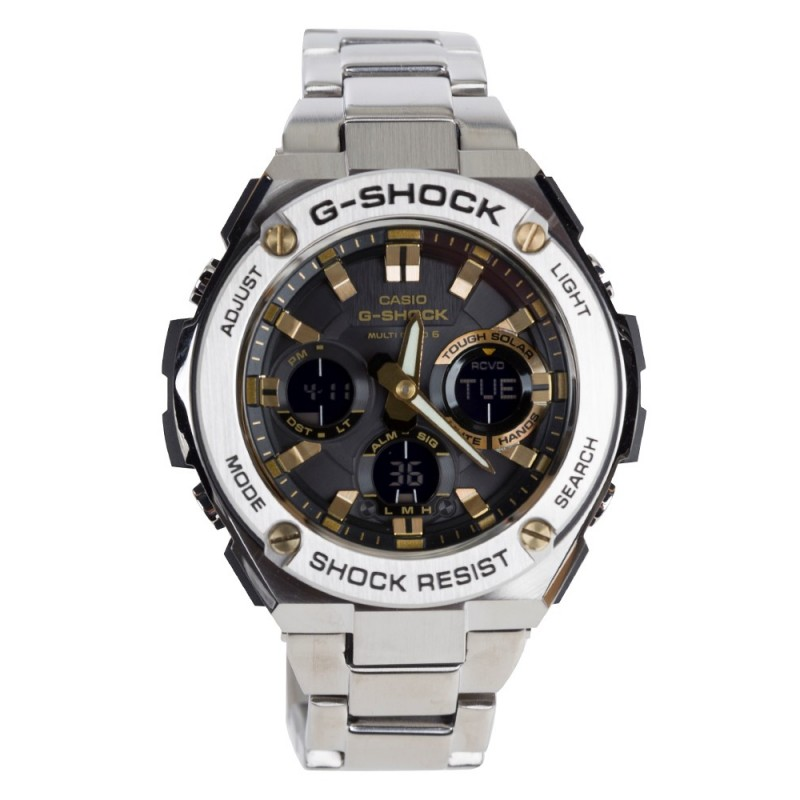 G-Shock Silver Steel Analogue Watch